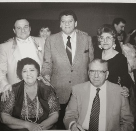 Howard Syroka, Judy Michaels Nadrsik, Bobby Jacob, Mae Jacob, Elizabeth Jacob Michaels, Alex Jacob